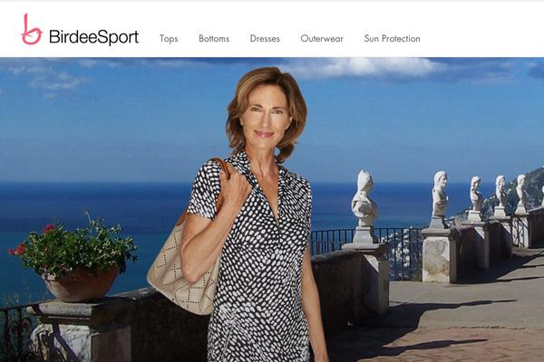 Sportswear Shopify site